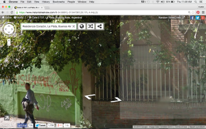 Current Google imagery of the wall. Taken and not updated since 10/13.